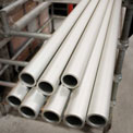 "Kee Safety - A125SCH40BND - Schedule 40 Aluminum Pipe (6 ft x 6 Pcs) Price Per Foot - 1-1/4"" Dia., - Pkg Qty 36"