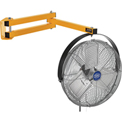 "Wesco Dock Fan With 40""L Double Arm 27232-8"