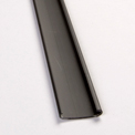 """Grid Max 4' Tee 232-07, Use With 1""""W Grid, Black - Package of 50"""