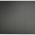 Genesis Smooth Pro PVC Ceiling Tile 740-07, Waterproof & Washable, 2'L X 2'W, Satin Black - 12/Case
