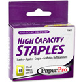 "PaperPro® Heavy Duty Staples, 60 Sheet Capacity, 2-1/2"" Leg Length, 125 Per Strip, 3000/Box"