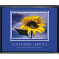 "Customer Service, Framed, 30"" x 24"""