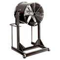 "Americraft 60"" TEFC Aluminum Propeller Fan With High Stand 60DALL-15H-3-TEFC 15 HP 60750 CFM"