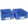 "Label Holder, Bin, 2"" x 4"", Clear"