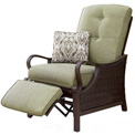 Hanover Ventura Outdoor Luxury Recliner with Pillow