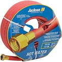 "Jackson® Professional Tools 5/8"" X 50' Hot Water Rubber Garden Hose"