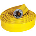 "Armored Textiles N56H4FX4100S JAFX4 4 Ply Fire Hose, 4"" X 100 Ft, 250 PSI, Yellow"