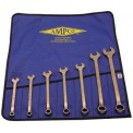 AMPCO® M-41 7Pc Non-Sparking Combination Wrench Kit SAE
