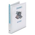 "Economy Reference View Binders, 1"" Capacity, White"
