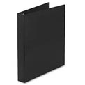 "Durable Slant Ring Reference Binder, 1"" Capacity, Black"