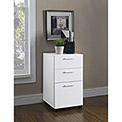 Princeton 3-Drawer Mobile File for Home Office White