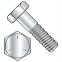"Hex Cap Screw - 1/4-20 x 1"" - Carbon Steel - Zinc CR+3 - Gr 5 - FT - UNC - Pkg of 100 - BBI 847010"