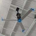 Blue Giant BGF3-1443-312-1 Falcon III HVLS Fan, 14 Ft. Dia., 1 HP, 115V, 1PH, w/Mounting Equipment
