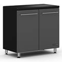 "Ulti-MATE Garage 2-Door Base Cabinet 33-1/2""W x 21""D x 35""H"