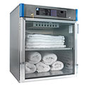 Blickman Glass Door 30W x 26-5/8D x 35-1/2H Blanket Warming Medical Cabinet