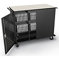 Balt® 27706A Odyssey High Capacity Tablet Charging Cart For 48 Devices, Assembled