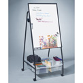 Balt® Storage Mobile Easel - Porcelain