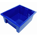 Balt TUBS-9 Plastic Tubs - Set of 9 (Mixed Red & Blue)