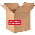 """Weather Resistant Corrugated Boxes 18"""" x 18"""" x 18"""" - 350lb. Test 10 Pack"""