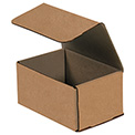 "Kraft Corrugated Mailers 6"" x 4"" x 3"" 200#/ECT-32-B 50 Pack"