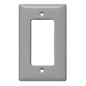 Bryant SCH26 Styleline Rectangular Plate, 1-Gang, Standard, Chrome Plated