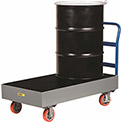 Little Giant® Spill Control Cart SSB512566-6PYBK - 2-Drum - 66 Gallon Capacity