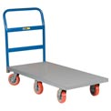 Little Giant® 6-Wheel Platform Truck NB6W-2448-6PY - 24 x 48 - Polyurethane Wheels - 3600 Lb.