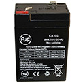 AJC® Lithonia ELB06042 6V 4.5Ah Emergency Light Battery