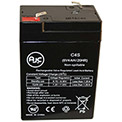AJC® Panasonic LC-R064R2P 6V 4Ah Security System Battery