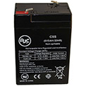 AJC® Kawasaki 10 million Candlepower Spotlight 6V 5Ah Spotlight Battery