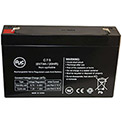 AJC® Emergi-Lite 12JSM 6V 7Ah Alarm Battery