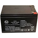 AJC® Emergi-Lite 0SB 12V 12Ah Alarm Battery