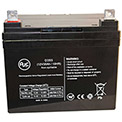 AJC® Braun T1100/T1200F (Series 4 and after) 12V 35Ah Wheelchair Battery