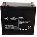 AJC® Power-Sonic PS-12550 12V 55Ah Wheelchair Battery