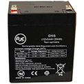 AJC® Silent Knight 680 12V 5Ah Security System Battery