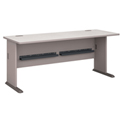 """Series A Pewter 72"""" Desk"""