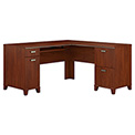 Tuxedo Collection L-Desk Hansen Cherry