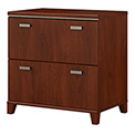 Bush Furniture Lateral File Cabinet - Hansen Cherry - Tuxedo Series