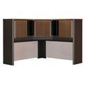 "Bush Furniture Corner Hutch - 48"" - Walnut - Series A"