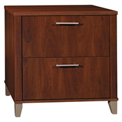 Bush Furniture Lateral File - Hansen Cherry - Somerset Series
