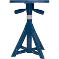 "Brownell Boat Stands Acme Threaded Jack, Straight Base Swivel 18""-25"" - MB4"