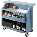 Cambro BAR540401 - Small Size, Bottle Service, Standard Decor, Slate Blue