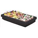 Cambro BUF48110 - Buffet Bar 24 x 41, Black