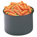 Cambro CP15110 - Solid Color Crock With Lid 1.5qt, Black - Pkg Qty 6