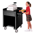Cambro ES28110 - Equipment Stand, Black