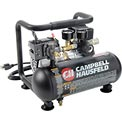 Campbell Hausfeld CT100100AV, Oil-Free Hot Dog Air Comp., 1 Gal, 0.5 HP, 125 PSI, 0.7 CFM, 120V