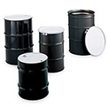 Skolnik Open-Head Carbon Steel Drums - Open-Head Drums - Bolt Ring Closure - 30-Gal. Capacity