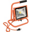 Power Tech® PT523030 Single LED Work Light, 30w, Orange