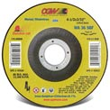 "CGW Abrasives 45020 Cut-Off Wheel 4-1/2"" x 7/8"" 36 Grit Type 27 Aluminum Oxide - Pkg Qty 25"