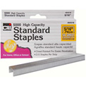"""CLI® Standard Chisel 5/16"""" Staples Silver"""
